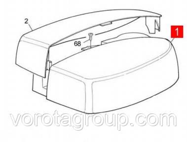 Кришка корпусу приводу SPIN (PPD1030.4540)
