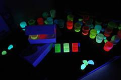 Светящаяся краска Acmelight для творчества и декора 1шт. (20 мл), 9 цветов, фото 3