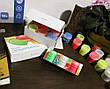 Светящаяся краска Acmelight для творчества и декора 1шт. (20 мл), 9 цветов, фото 4
