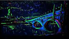 Светящаяся краска Acmelight для творчества и декора 1шт. (20 мл), классический (полупрозрачный) зеленый, фото 2