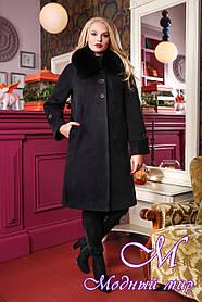 Женское батальное зимнее пальто (р. 48-58) арт. 1054 Тон 21