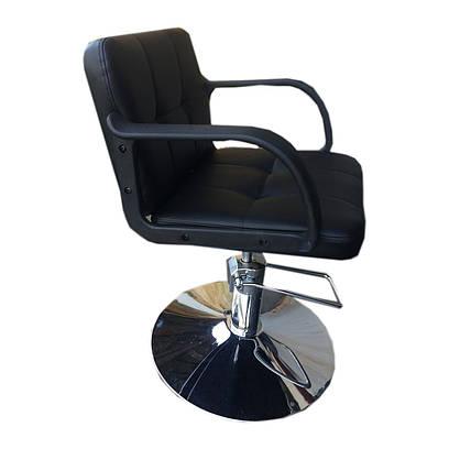 Парикмахеркое кресло Артур черное