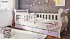 Детская кровать от 3 лет с бортиками для девочки Miss Secret, фото 3