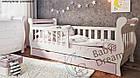 Детская кровать от 3 лет с бортиками для девочки Miss Secret, фото 6
