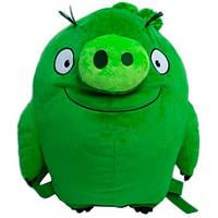 Рюкзак плюшевый Свинка, Angry Birds, Premium Toys