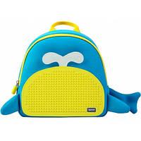 Рюкзак Blue Whale желто-голубой, Upixel