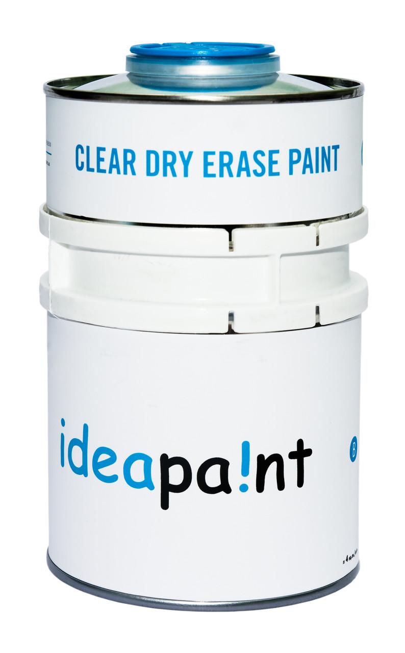 Маркерная краска Ideapaint Прозрачная 3 кв.м.