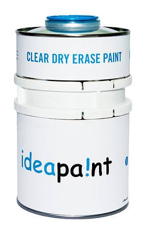 Маркерная краска Ideapaint Прозрачная 3 кв.м., фото 2