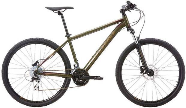 "Велосипед 27,5"" Cannondale CATALYST 2 2017 SOF темно-салатовый"