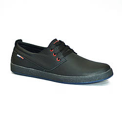 Кожаная обувь Color Черные Black (40-43)