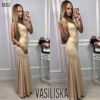 Красивое платье в пол ан-11699-1