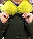 Зимнее пальто с мехом в тон изделия, фото 6