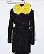 Зимнее пальто с мехом в тон изделия, фото 8