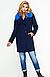 Зимнее пальто с мехом в тон изделия, фото 3