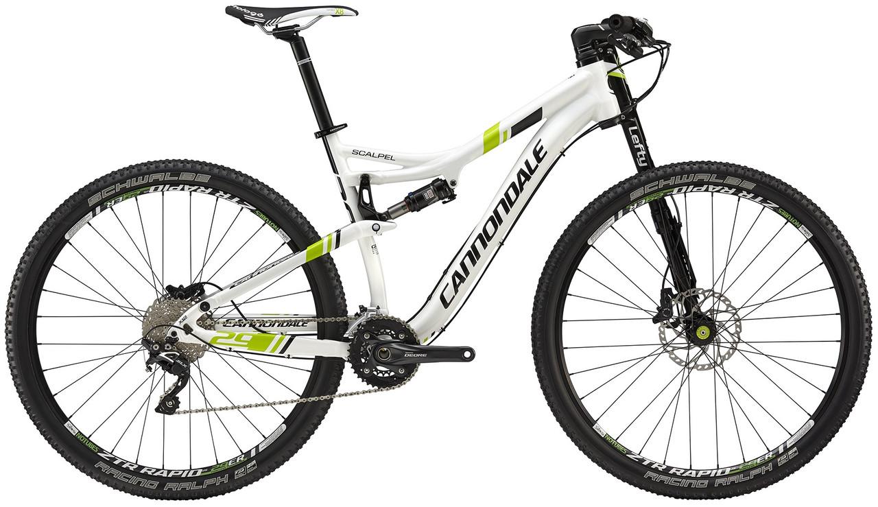 "Велосипед 29"" Cannondale SCALPEL 4 2015 бел."