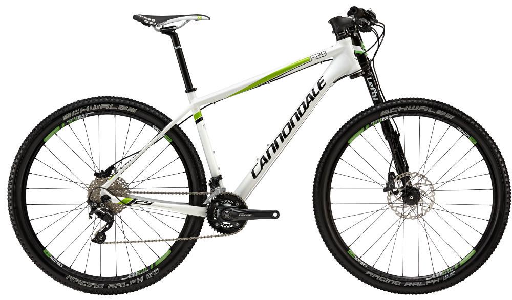 "Велосипед 29"" Cannondale F5 Alloy 5 2015 белый"