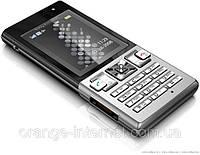 Оригинальный сотовый Sony Ericsson T700 Black on silver