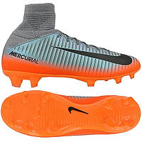 Детские футбольные бутсы Nike Mercurial SuperFly V CR7 FG 852483-001