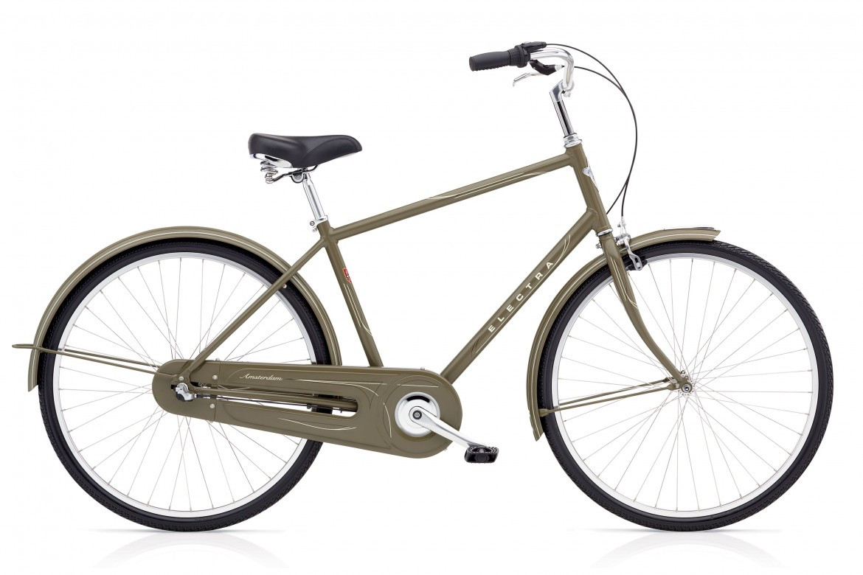 "Велосипед 28"" ELECTRA Amsterdam Original 3i Men's Olive"