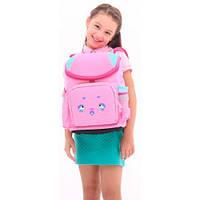 Ранец Super class school розовый, Upixel