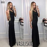 Красивое платье в пол ан-11699-3