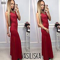 Красивое платье в пол ан-11699-4