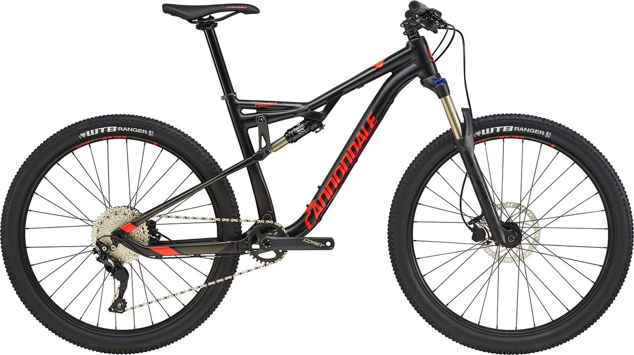 "Велосипед 27,5"" Cannondale Habit 6 BLK черный 2018"