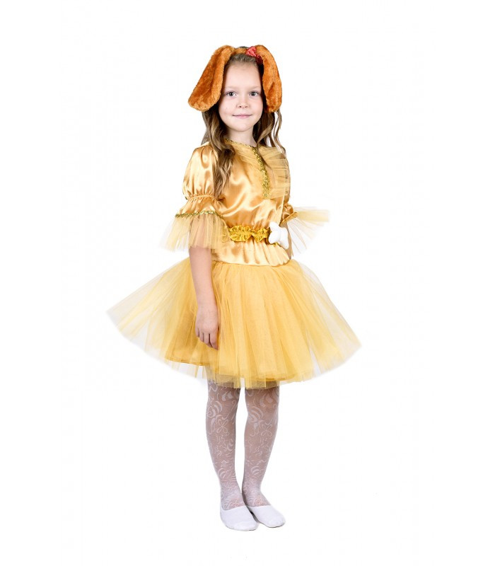 Карнавальный костюм Собачки для девочки для девочки (3-8 лет)