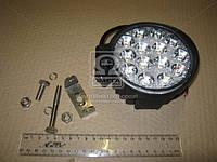 Фара LED круглая 42W, 14 ламп, 116*137,5мм, широкий луч (ТМ JUBANA) 453701050