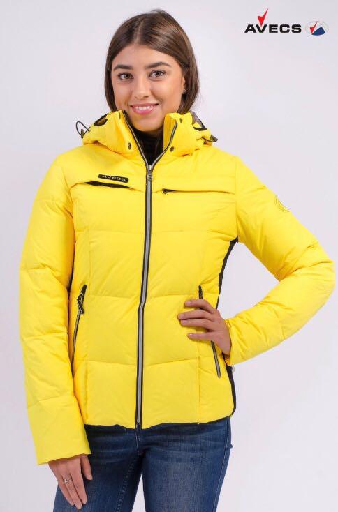 Купить женскую горнолыжную куртку Avecs limon, фото 1