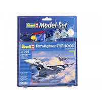 Model Set Многоцелевой истребитель Eurofighter Typhoon (1998г., GER/ SPA/ GBR/ ITA); 1:144, Revell 64282