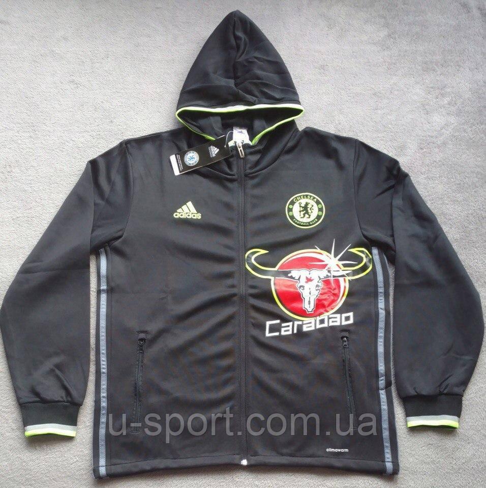 434db7683b537 Олимпийка мужская с капюшоном Adidas Hoodie Adidas Chelsea F.C. 2016-17,  цена 1 150 грн., купить Київ — Prom.ua (ID#617570237)