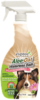 Espree ALOE-OAT Waterless Bath, 710 мл -гипоаллергенный спрей для экспресс-чистки без воды для собак