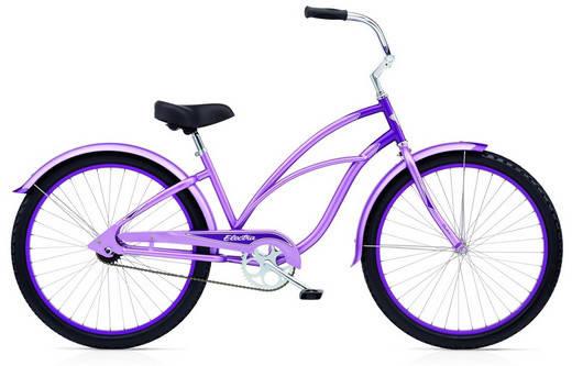 """Велосипед  26"""" ELECTRA Cruiser Custom 3i Ladie 2013 lavender/purple"""