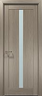 "Двери межкомнатные Папа Карло "" Optima 1 "" - клен серый"
