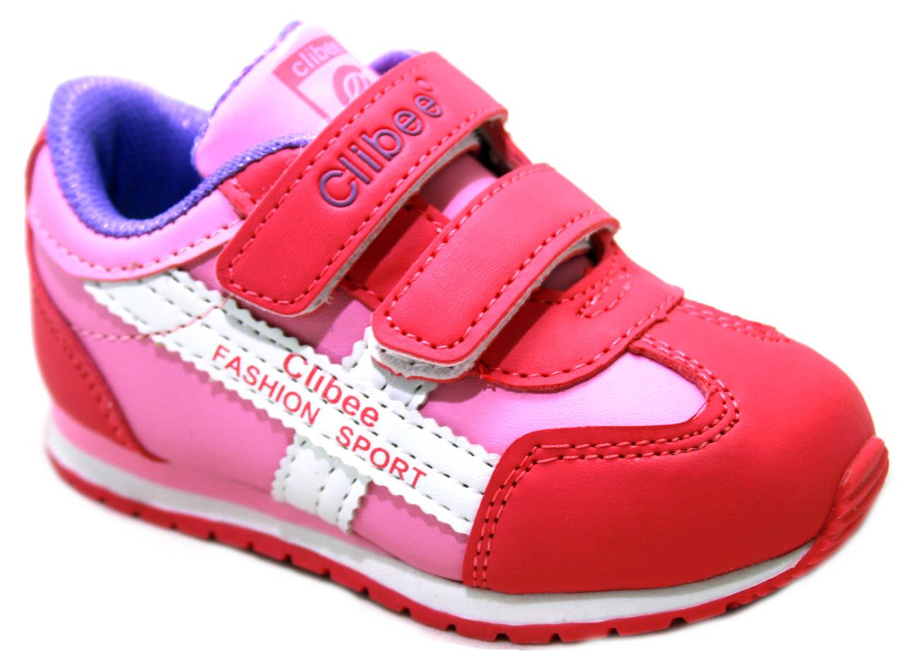 Детские кроссовки для девочки Clibee Румыния размеры 20-25