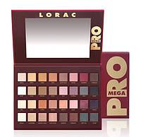 Палетка теней Lorac Mega Pro Palette 32 цвета