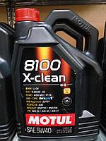 Моторное масло Motul8100 X-clean 5w40 (С3)