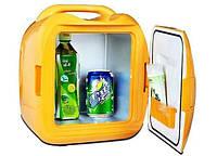1002167 Мини холодильник CONGBAO CB-D008, автомобильный холодильник 7.8L, маленький холодильник, маленький холодильник для дачи, холодильник