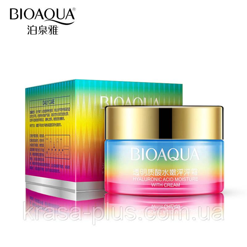 Крем для обличчя з гіалуронової кислотою BioAqua Peng Peng Hyaluronic Acid Cream