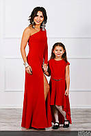 Платья мама дочка вечерние цвета в ассортименте, фото 1