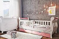 Детская кровать Мисс Сикрет от 3 лет с бортиком