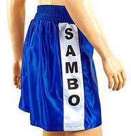 Шорты для самбо MATSA MA-5311-B синие