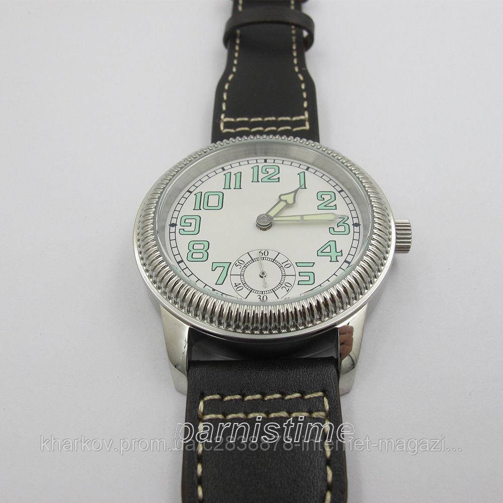 "44mm Parnis Small Second Seagull Hand Winding Men's Casual Watch Beautiful Bezel - Интернет-магазин ""TEMPORI"" в Харькове"