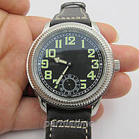 44mm Parnis Small Second SeaGull Hand Winding Men's Mechanical Casual Watch New