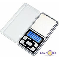 ТОП ВЫБОР! Цифровые карманные весы Pocket Scale MH-200 - 1000354 - ювелирные весы, точные весы, электронные весы, портативные весы