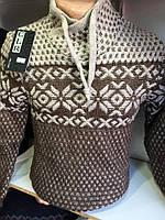 Молодежный свитер-стойка,Турция