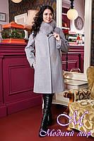 Элегантное женское зимнее пальто (р. 44-56) арт. 1051 Тон 104