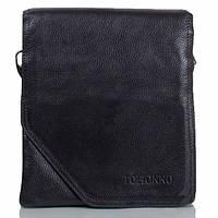 Мужская кожаная сумка черная отличного качества Tofionno TF0006010-31