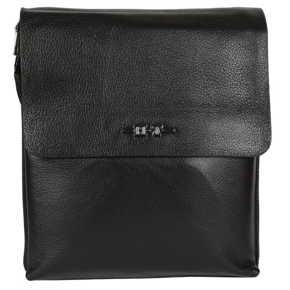 fee2cbcc7b72a Практичная мужская сумка через плечо черная High Touch HT005120-31. 2 301  грн. Купить